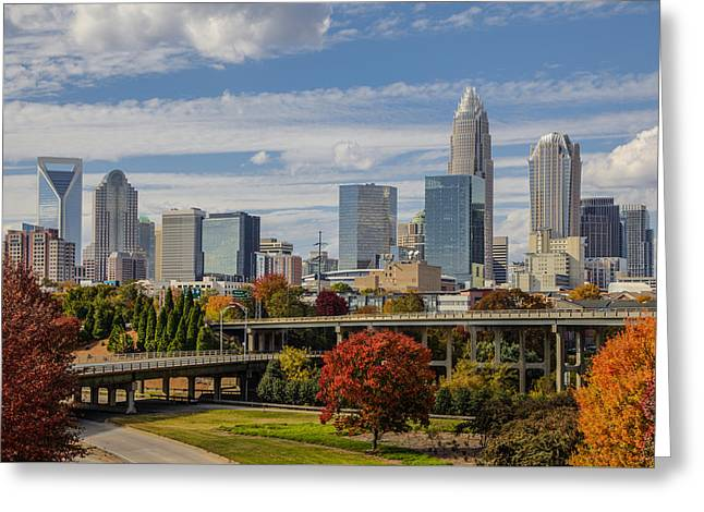 Charlotte Fall Greeting Card by Chris Austin