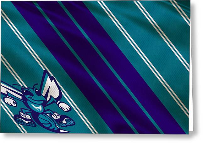 Charlotte Hornets Uniform Greeting Card