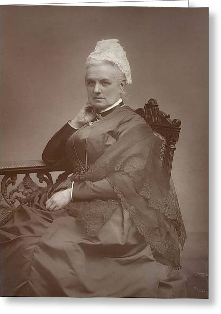 Charlotte Mary Yonge Greeting Card by British Library