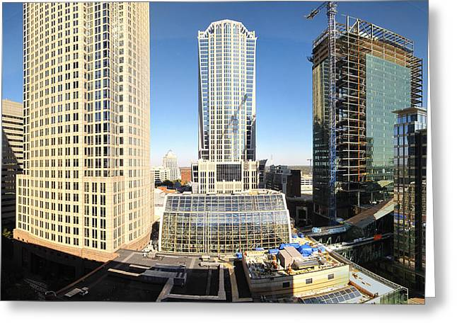 Charlotte Nc - 12129 Greeting Card by DC Photographer