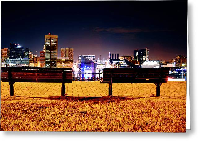 Charm City View Greeting Card