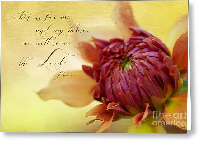 Charmed With Bible Verse Greeting Card