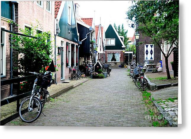 Greeting Card featuring the photograph Charming Dutch Village by Joe  Ng