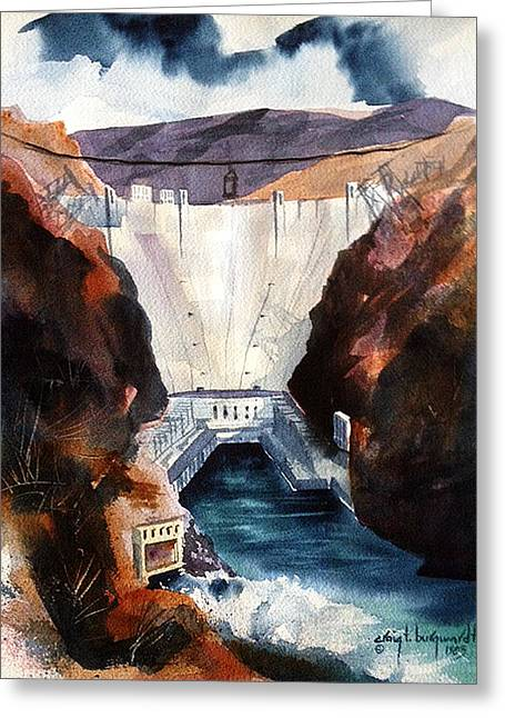 Char's Hoover Dam Greeting Card