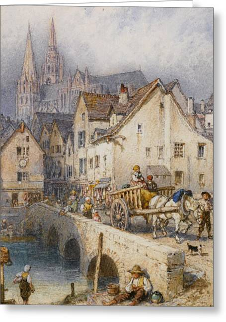 Charters Greeting Card by Myles Birket Foster