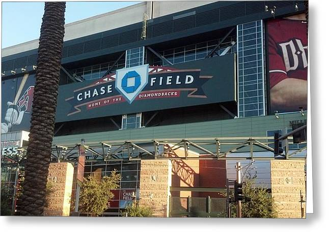 Chase Field Greeting Card