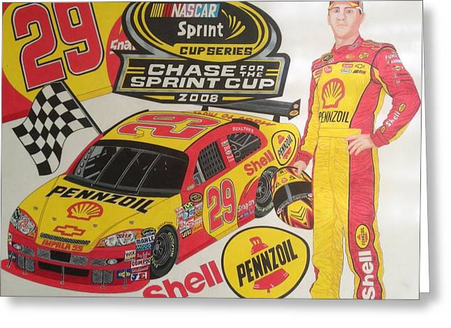 Chase For The Cup 2008 Greeting Card