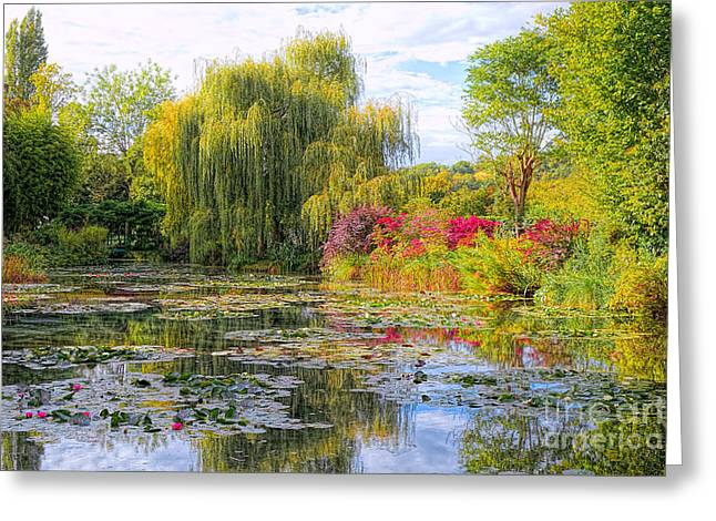 Chasing Monet Greeting Card by Olivier Le Queinec