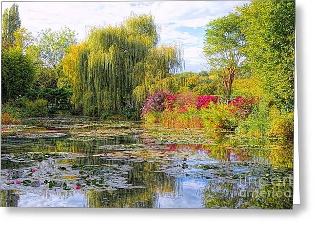Chasing Monet Greeting Card