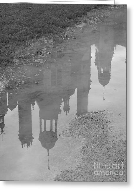 Chateau Chambord Reflection Greeting Card