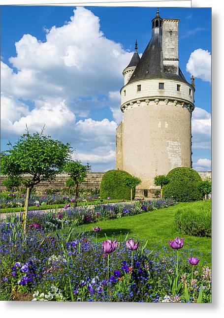 Chateau De Chenonceau, Chenonceaux Greeting Card