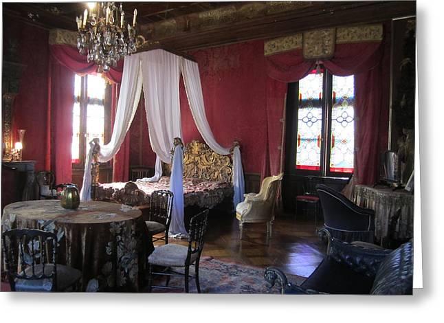 Chateau De Cormatin Greeting Card