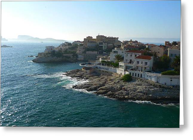 Chateau D'if Bay Of Marseille Greeting Card