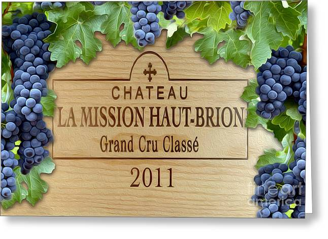 Chateau Haut Brion Greeting Card