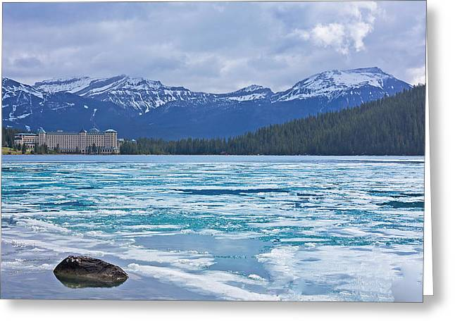 Chateau Lake Louise #2 Greeting Card by Stuart Litoff