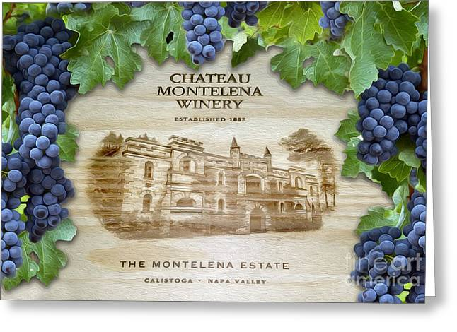 Chateau Montelena Greeting Card by Jon Neidert