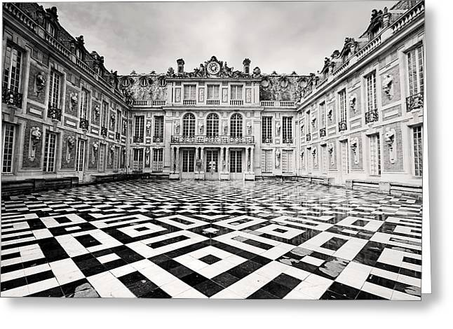 Chateau Versaille France Greeting Card by Pierre Leclerc Photography