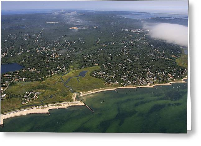 Chatham, Cape Cod Greeting Card by Dave Cleaveland