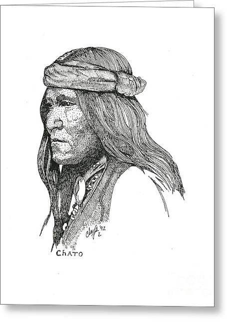 Chato Greeting Card