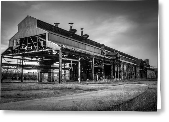 Chattanooga Abandoned Warehouse 1 Greeting Card by Douglas Barnett