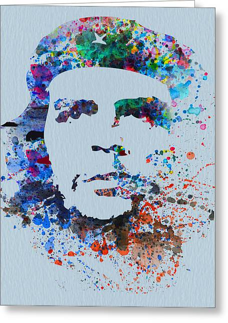 Che Greeting Card by Naxart Studio