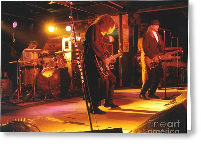 Cheap Trick-93-stage Greeting Card by Gary Gingrich Galleries
