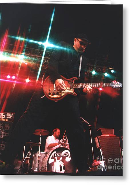 Cheap Trick-95-rick-3 Greeting Card by Gary Gingrich Galleries