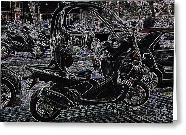 Check Out My Ride Greeting Card by Sue Melvin