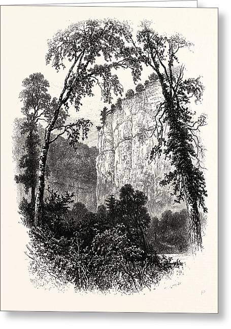 Chee Tor, Chee Dale, Uk, Britain, British Greeting Card by English School