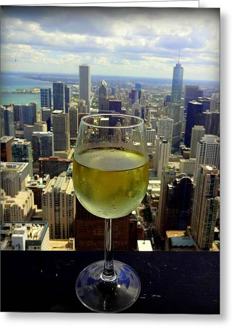 Cheers Chicago Greeting Card