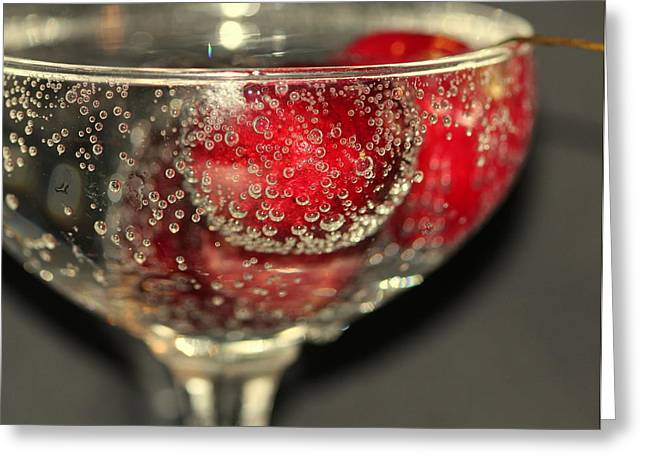 Cheers Greeting Card by Debbie Howden