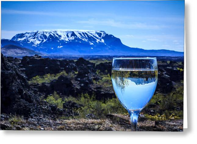 Cheers To Iceland Greeting Card