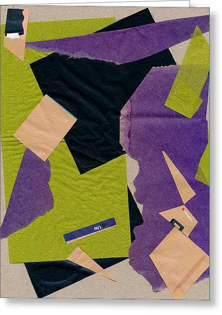 Cheese, Susan Szikra 2016 Abstract Art Greeting Card