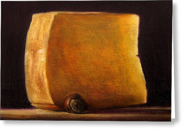 Cheese With Hazelnut Greeting Card