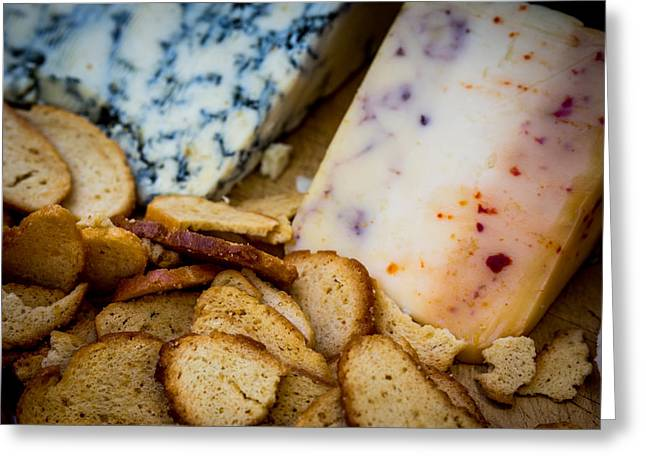 Cheeseboard Is Served Greeting Card by Kaleidoscopik Photography