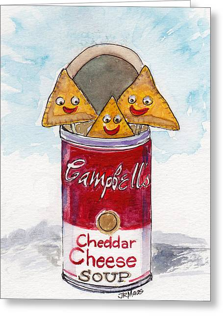 Kinda Cheesy  Greeting Card
