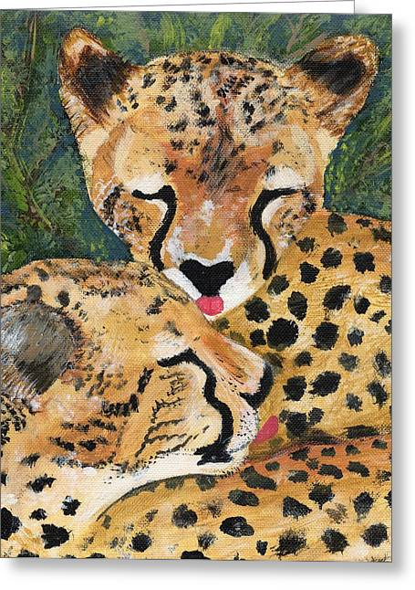 Cheetahs Greeting Card