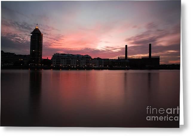 Greeting Card featuring the photograph Chelsea Harbour 2 by Mariusz Czajkowski