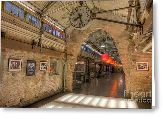 Chelsea Market IIi Greeting Card by Clarence Holmes