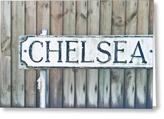 Chelsea Greeting Card by Tom Gowanlock