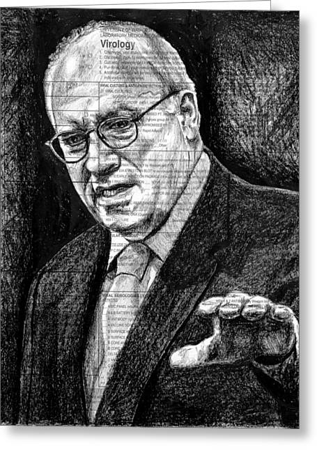 Cheney Greeting Card by Mark Zelmer