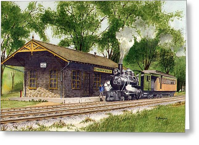 Cheneyville Station Greeting Card