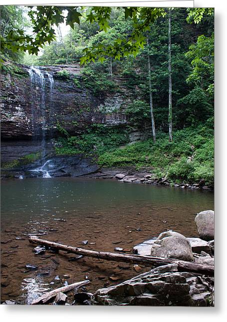 Cherokee Falls Greeting Card