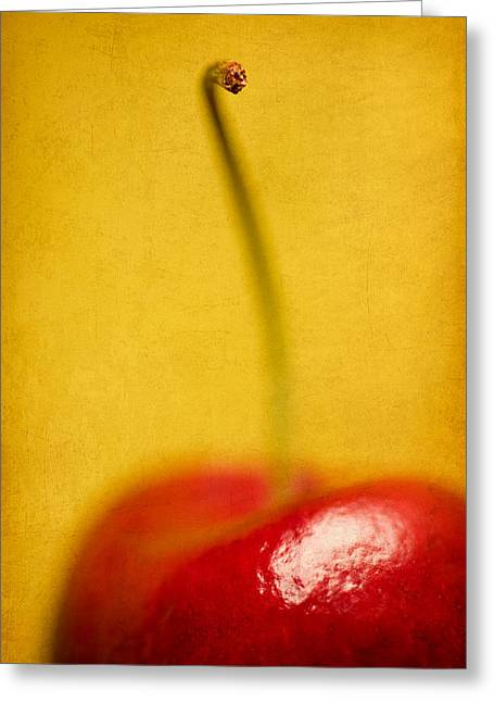 Cherry Bliss Greeting Card by Amy Weiss