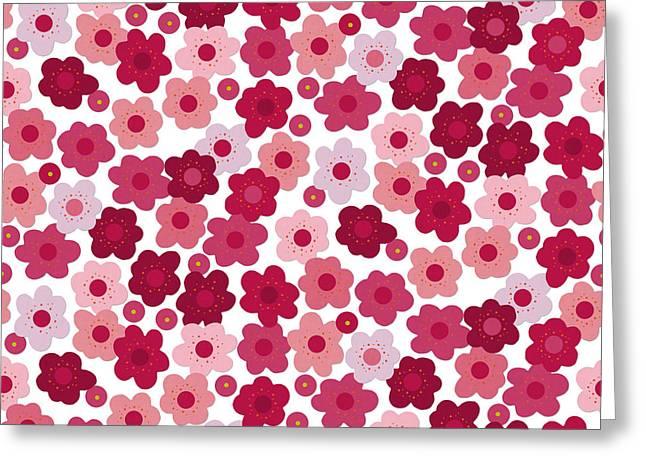 Cherry Blossom Pop Greeting Card