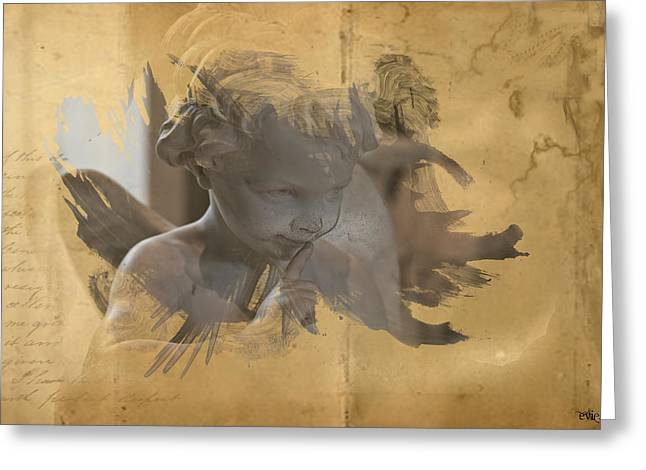 Cherub Greeting Card