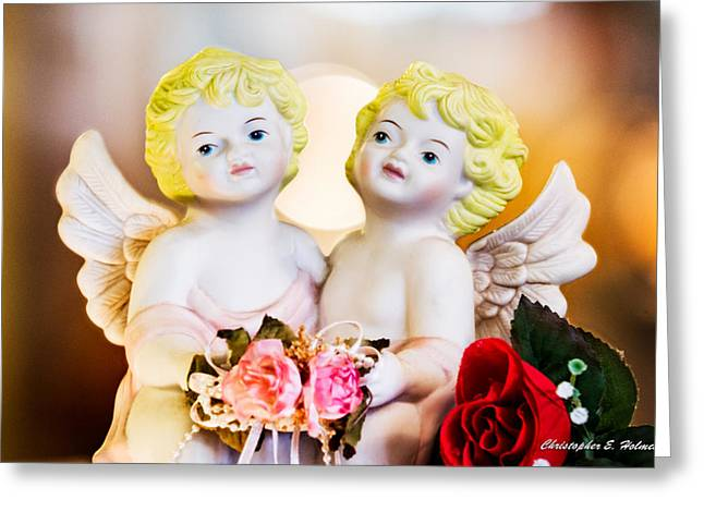 Cherubs Greeting Card