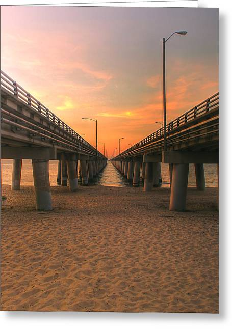Chesapeake Bay Bridge IIi  Greeting Card