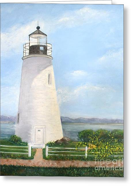 Chesapeake Lighthouse Greeting Card