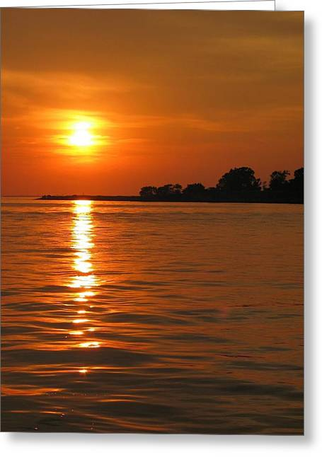 Chesapeake Sun Greeting Card by Photographic Arts And Design Studio